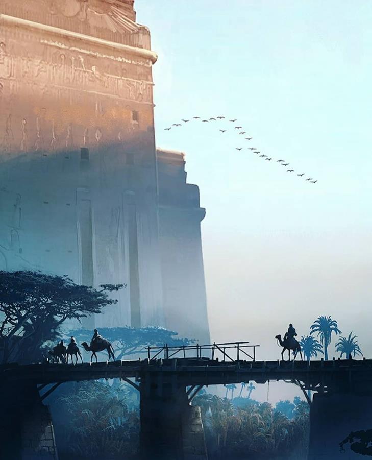 храм Египта