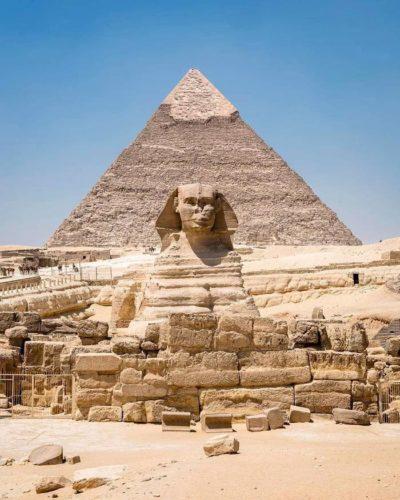 Пирамиды и Сфинкс в Гизе