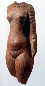 скульптура египтянки
