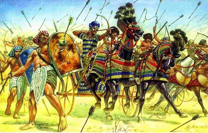 Воины Египта