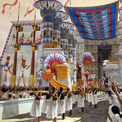 Праздники в Древнем Египте