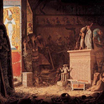 Арт: древнеегипетская гробница