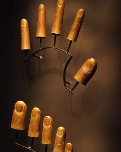 золотые колпачки для рук